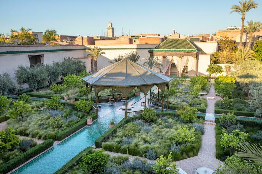 Exploring The Secret Garden Of Marrakech Villa Marrakech