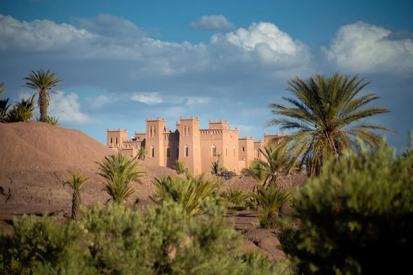 Kasbah, centre of the old Medina of Marrakech