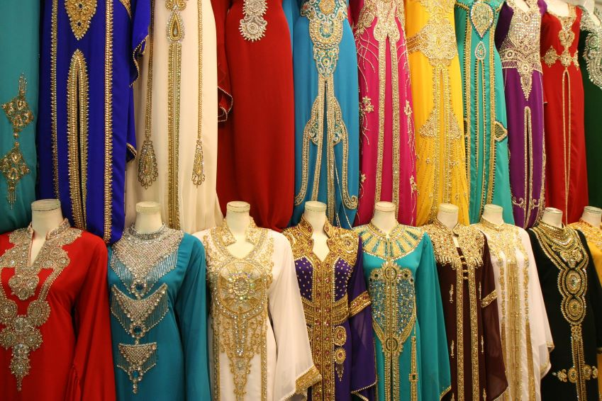 Learn more about the traditional Moroccan outfits.
