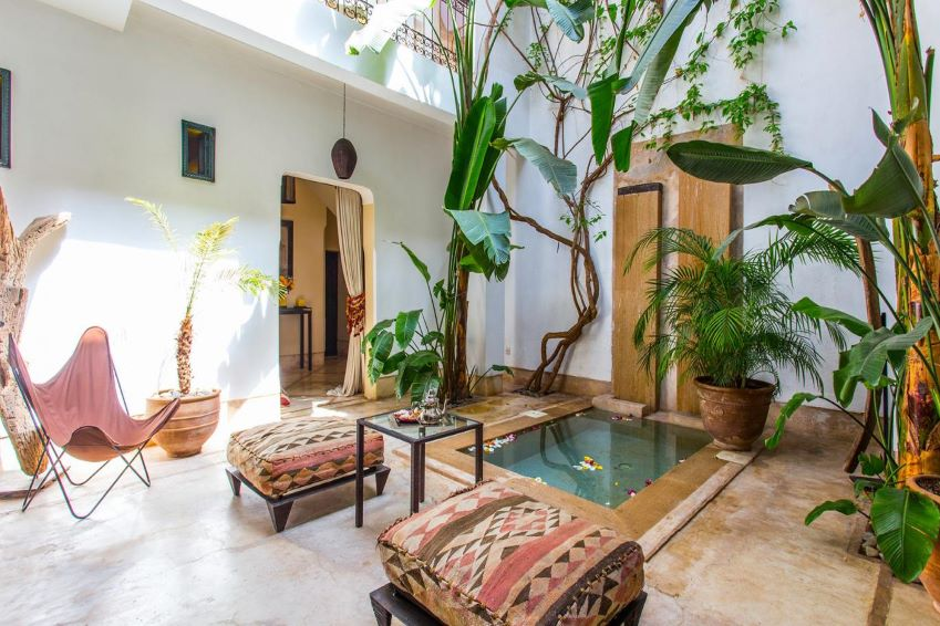 Our small riads for a family in Marrakech