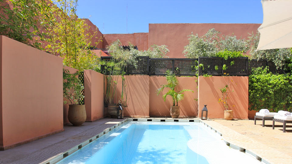Villa Ryad Lys Blanc, Location à Marrakech
