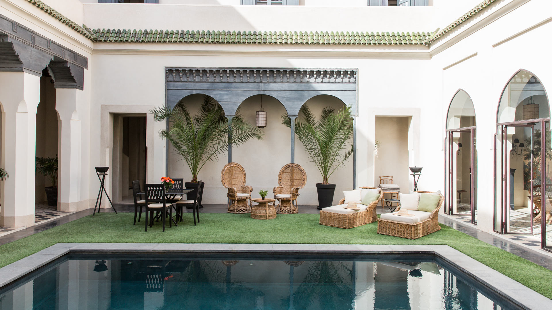 Villa Riad Derb Sraghna, Location à Marrakech