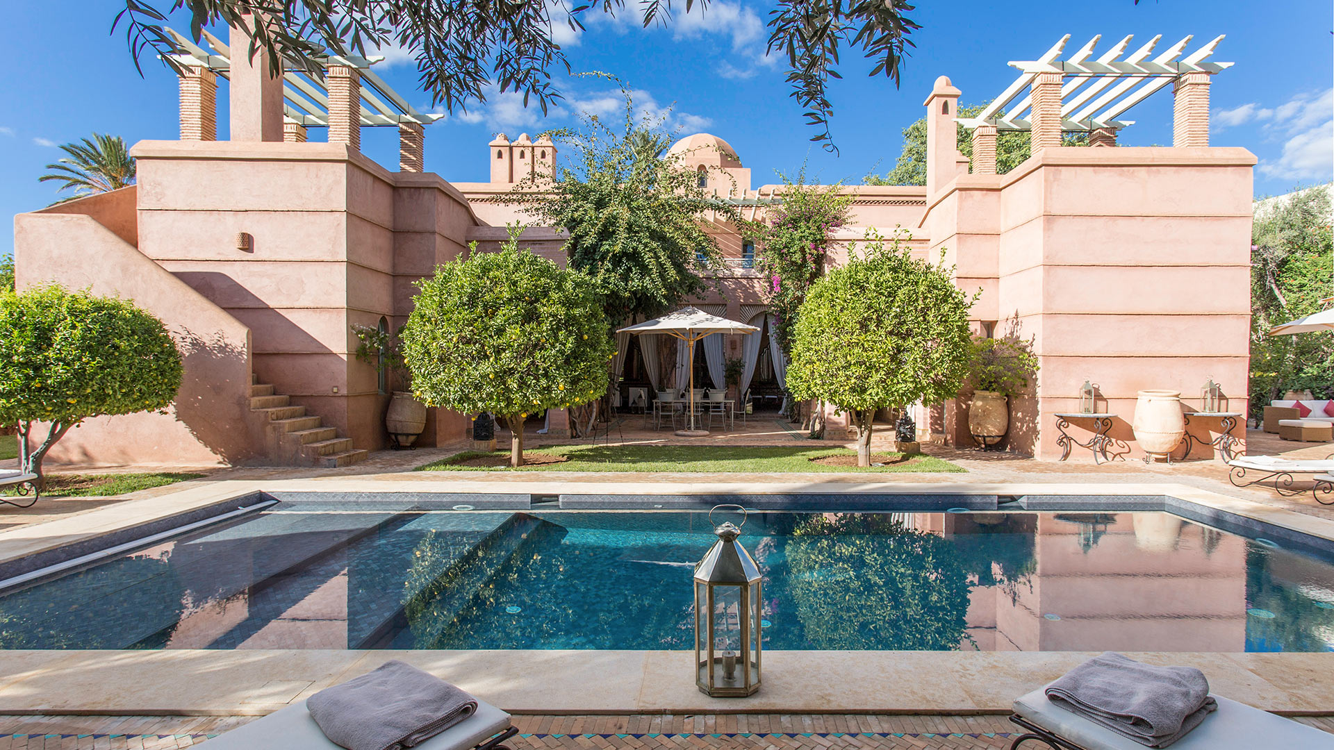 Villa Dar Zarra, Location à Marrakech