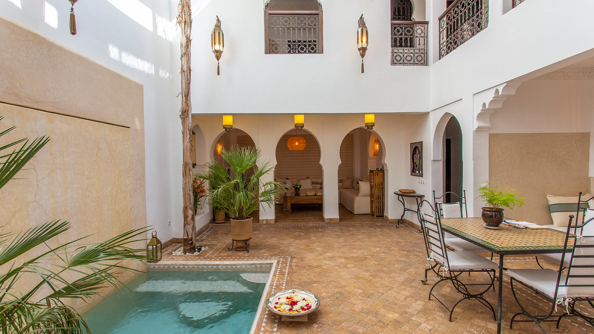 Villa Riad Baghala, Location à Marrakech