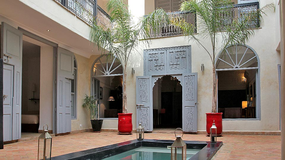 Villa Riad Mazagao, Location à Marrakech
